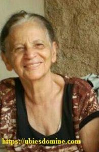 """Fotografía de Doña Elvira (cf. artículo """"Una santa de nuestros días"""")"""