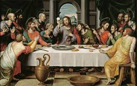 Última cena. Cuadro de Juan de Juanes