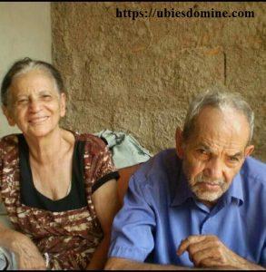 Una santa de nuestros días. Foto de Doña Elvira con su marido, el Sr. Antonio