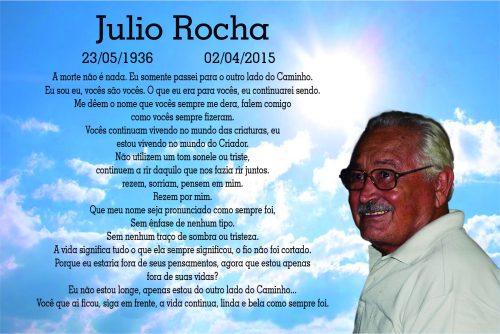 Esquela del Sr. Júlio Rocha
