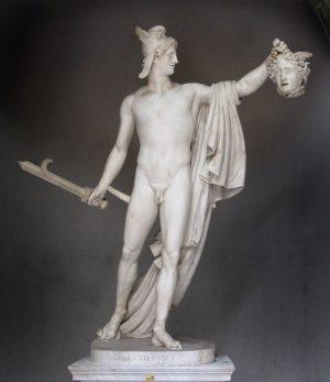 Perseus. Escultura de Antonio Cánova