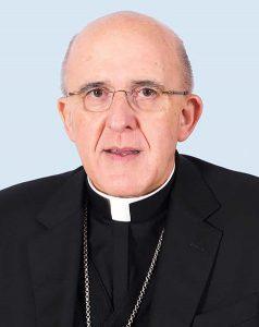 Evangelización versus militancia. Foto de Monseñor Carlos Osoro, cardenal arzobispo de Madrid