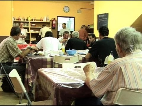 Comedores sociales en España (fotografía)