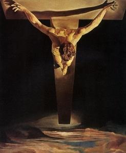 El Cristo de san Juan de la Cruz. Cuadro de Dalí