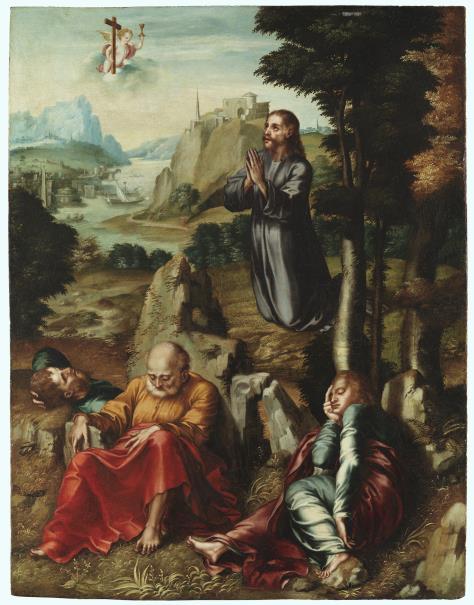 La oración del huerto. Cuadro de Luis de Morales