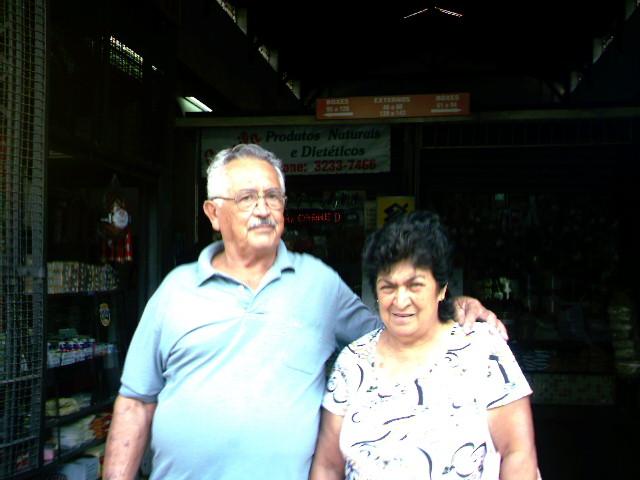 Dña. Sebastiana y su marido, el Sr. Julio