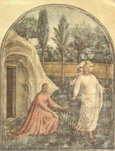 El resucitado se aparece a María Magdalena. Cuadro