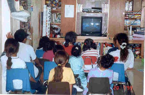 Foto: niños en clase