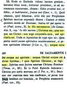 Presencia real de Cristo en la eucaristía. San Ambrosio (PL 16,408 C - 409 A)