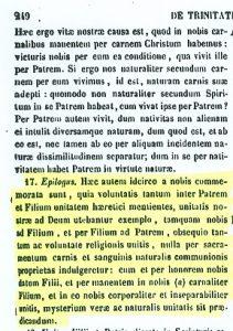 Presencia real de Cristo en la eucaristía San Hilario (PL 10,249 A-B