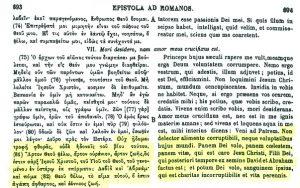 Presencia real de Cristo en la eucaristía. San Ignacio de Antioquía (PG 5,693 B)