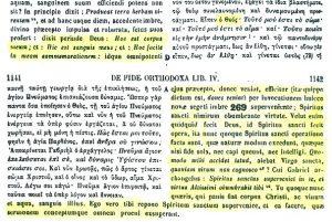Presencia real de Cristo en la eucaristía. San Juan Damasceno (PG 94,1139 C-D - 1142 A)