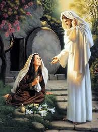 La resurrección de Cristo. Aparición de María Magdalena
