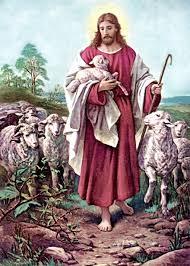 Privados de la comunión eucarística en tiempos del covid-19. Dibujo del Buen Pastor