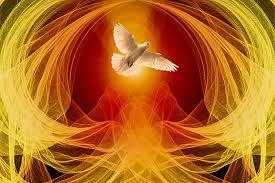 El Espíritu Santo. Composición fotográfica
