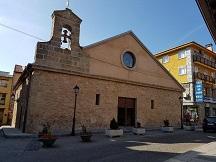 Conocimiento interno del Señor. Fotografía de la Iglesia del Carmen en Cercedilla