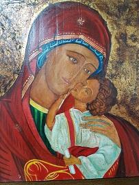 Lecturas comunes. Imagen de la Virgen