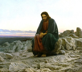 Jesús de Nazaret en el desierto