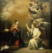 El Espíritu Santo. La anunciación- cuadro de Murillo