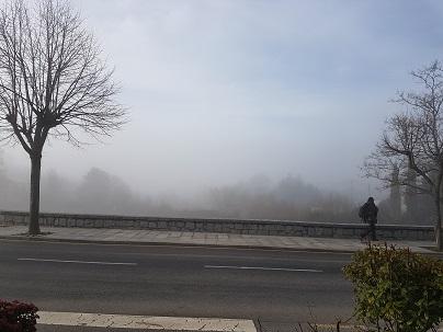 Soledad. Foto de una mañana de invierno.